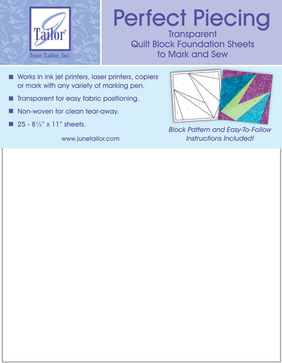 Perfect Piecing Sheets 25ct