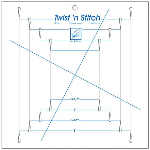 Twist N Stitch Ruler