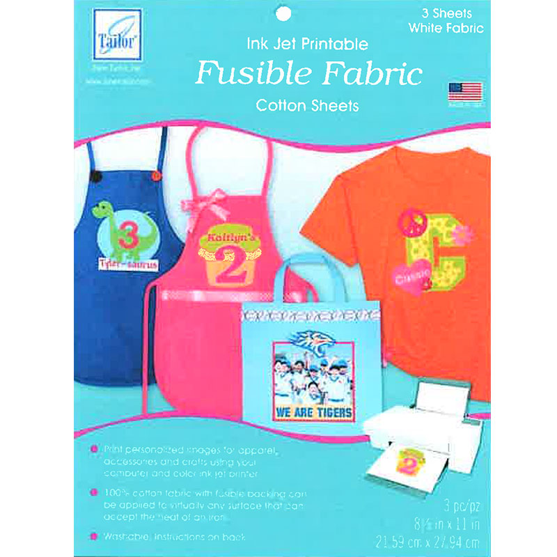 Ink Jet Printable Fusible Coton