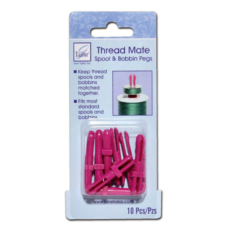 Thread Mate Spool & Bobbin Pegs<br/>June Tailor