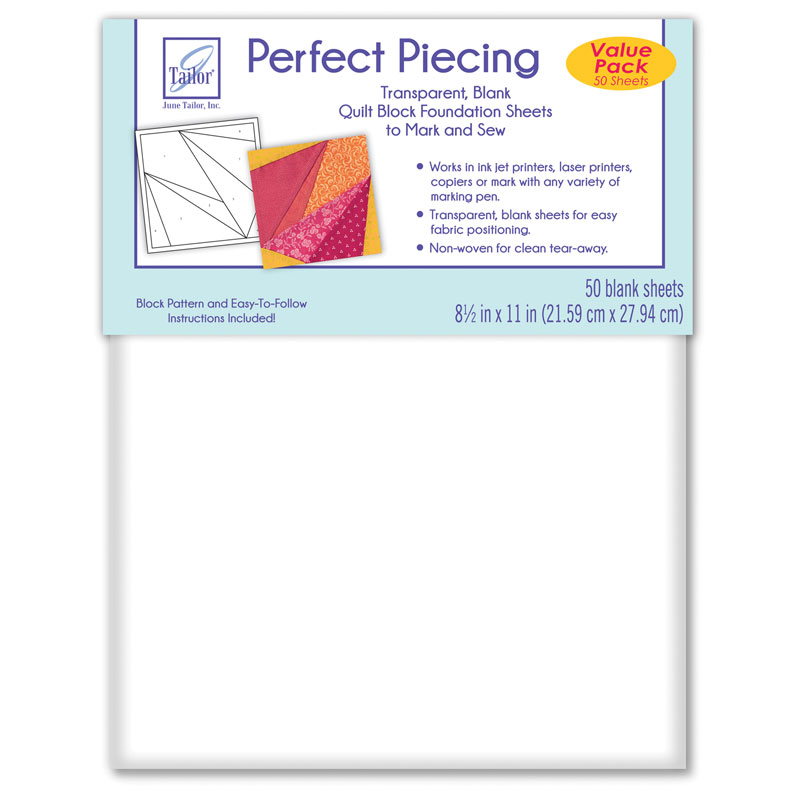 Perfect Piecing Sheets 50 ct