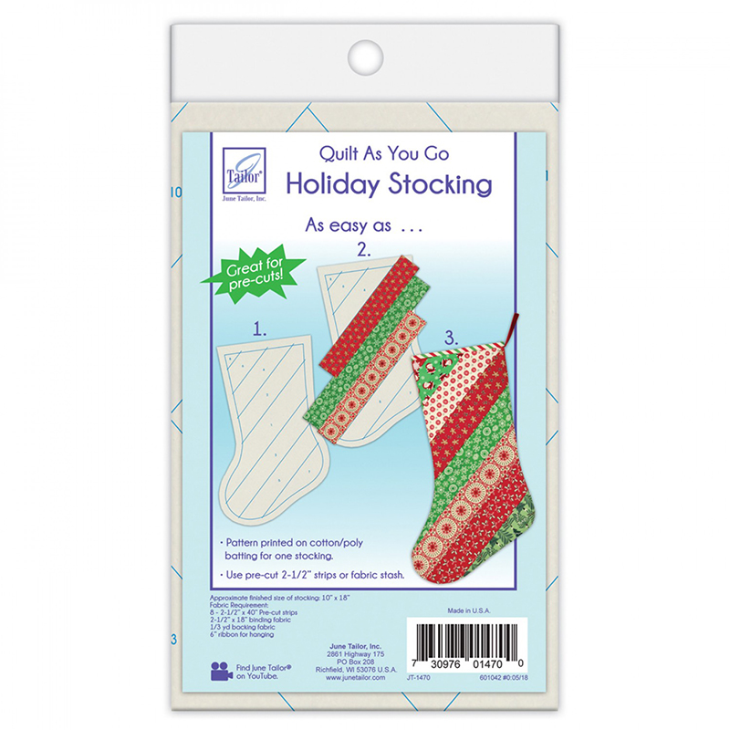 QAYG Holiday Stocking JT 1470