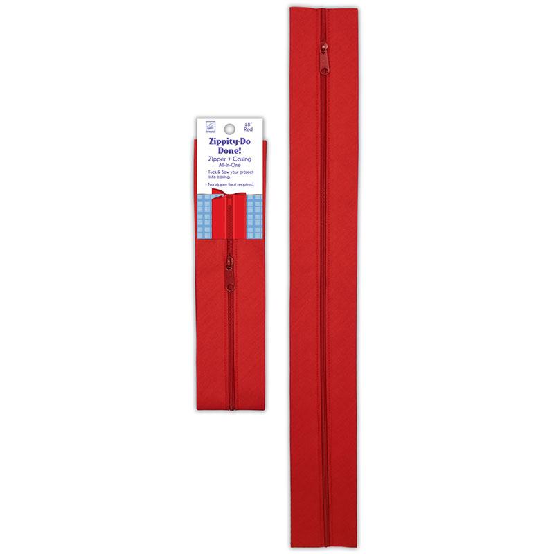 Zippity Do Done 18 Zipper Red