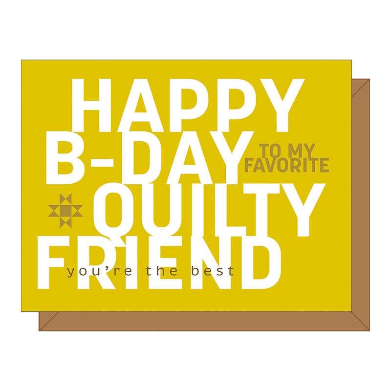 Gift Card Happy B-Day