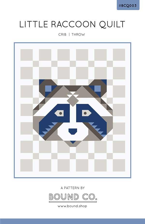 Little Raccoon Quilt Pattern