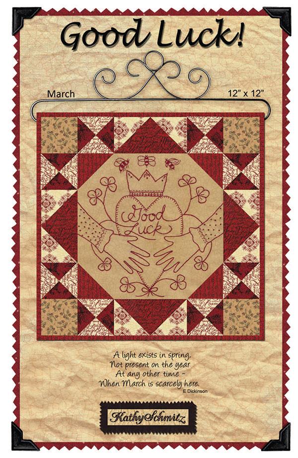 Good Luck Embroidery by Kathy Schmitz KS-1403^  SALE+