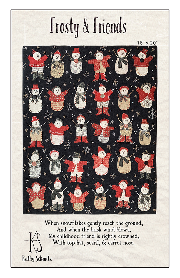Frosty And Friends Wallhanging Kit