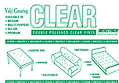 4 Gauge Clear Vinyl 54