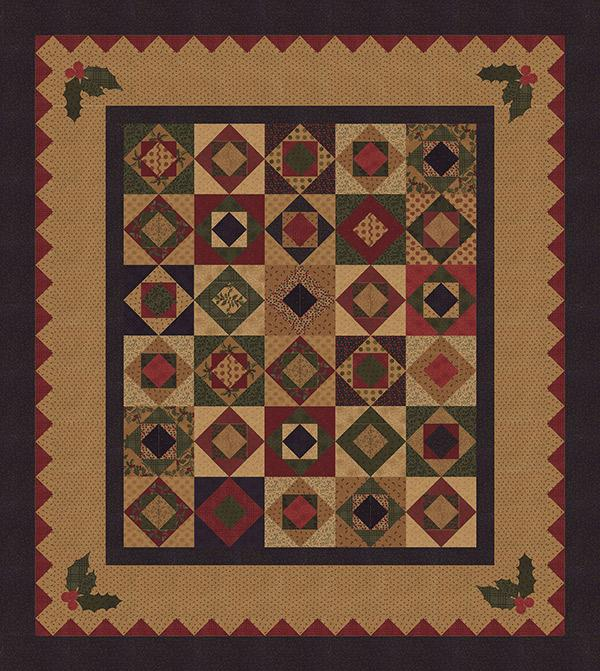 Holly Wishes Pattern
