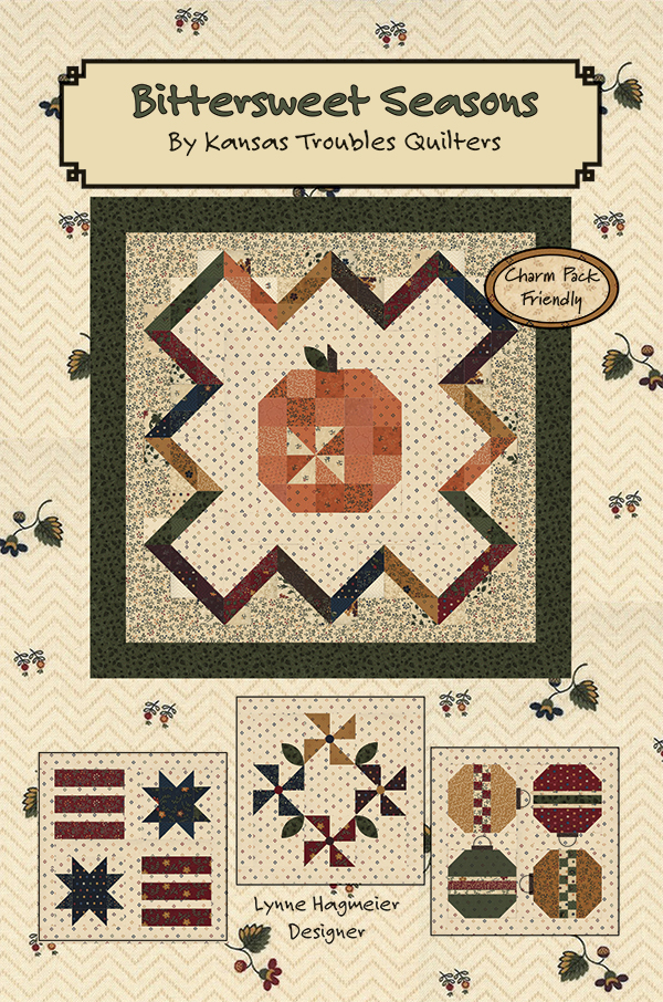 Bittersweet Lane Seasons, 4 patterns in 1, designed by Kansas Troubles