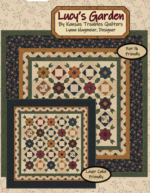 Lucy's Garden pattern by Kansas Troubles Quilters
