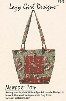 Lazy Girl Designs Newport Tote pattern