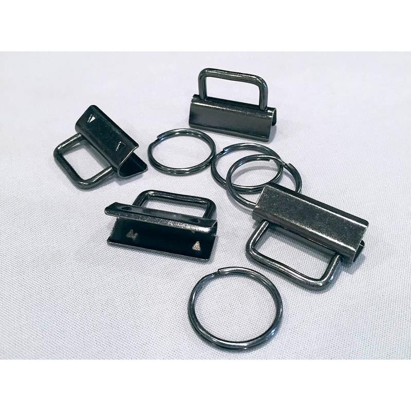 Key FOB Hardware 1 1/4 Dk Slat