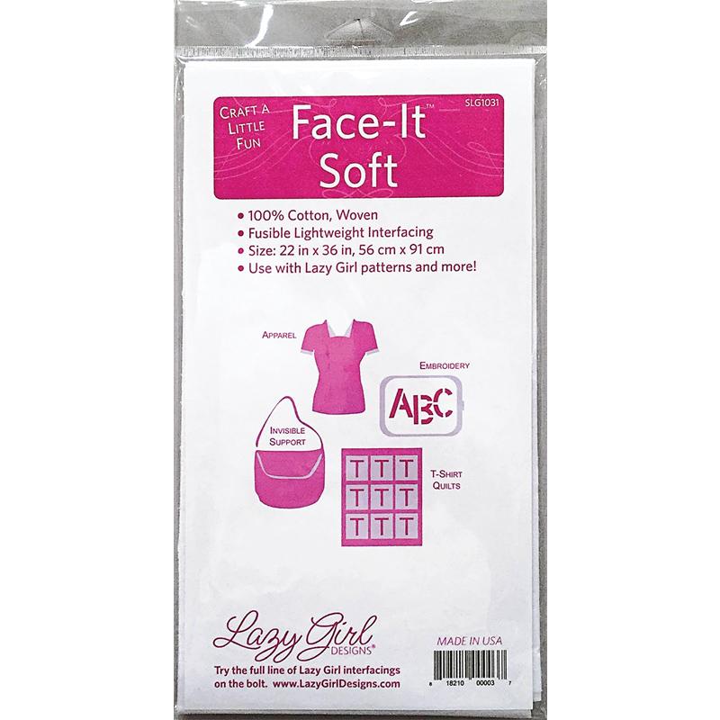 Face It Soft Fusible 22x 36 SLG1031