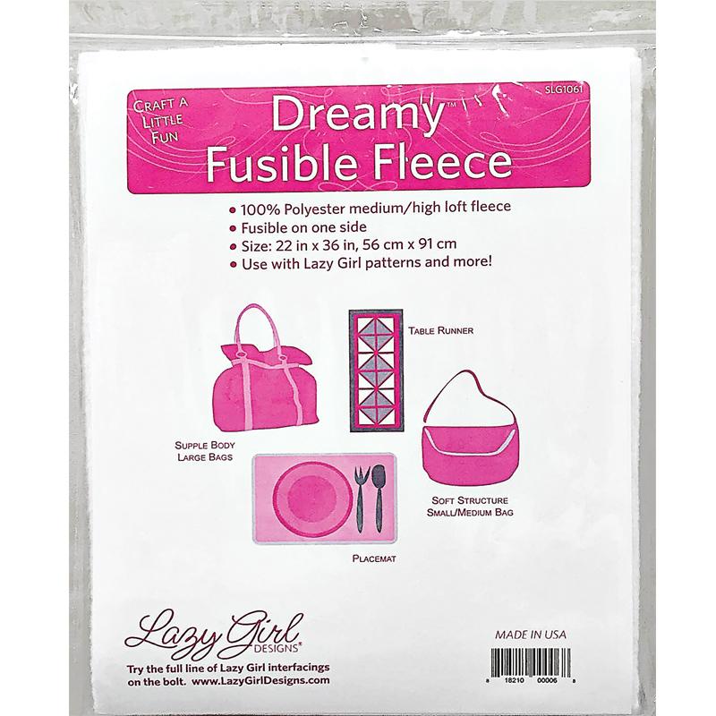 Dreamy Fusible Fleece 22 x 36