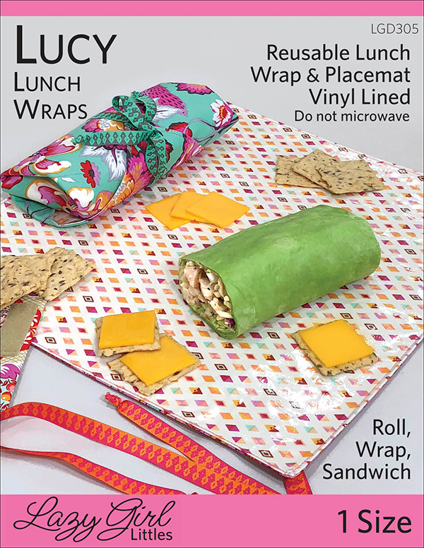 SALE Lazy Girl Lucy Lunch Wraps LGD 305