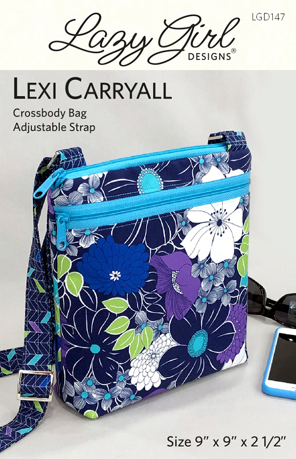 Lexi Carryall bag/purse pattern