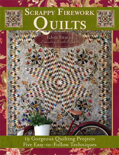 Scrappy Firework Quilts By Laundry Basket Quilts