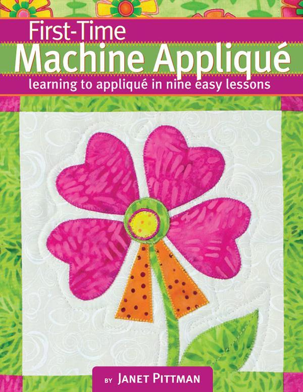First Time Machine Applique