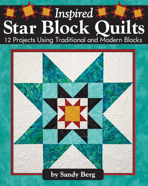 Inspired Star Block Quilts Book *