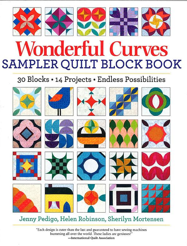 Wonderful Curves Sampler Quilt