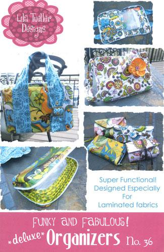GoLightly: Lila Tueller Designs: Funky & Fabulous Deluxe Organizers #36