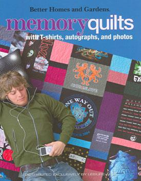 Better Homes & Gardens: Memory Quilts Book