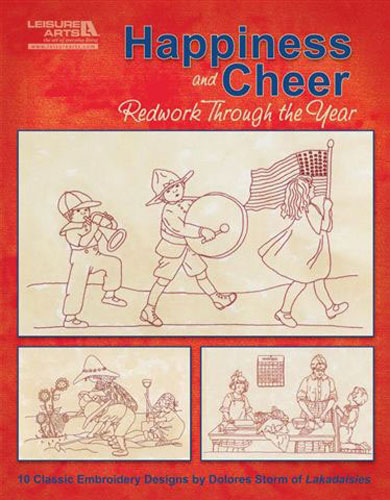 Happiness & Cheer Redwork Through the Year
