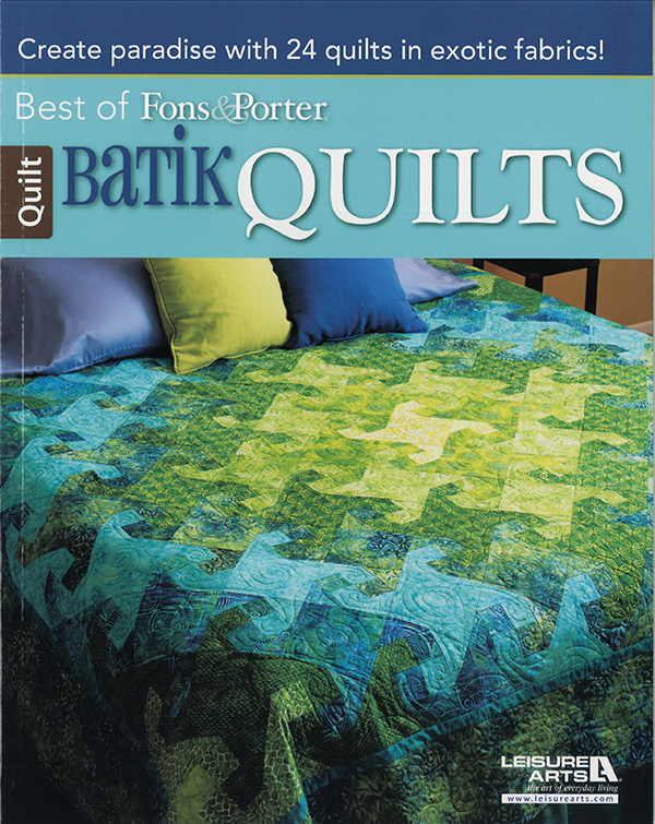 Best Of Fons/Porter Batik Quilt