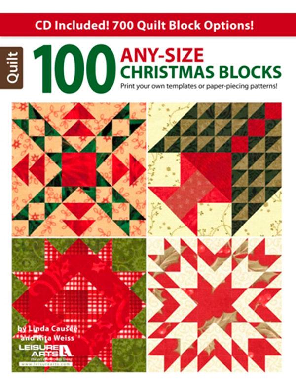 100 Any-size Christmas Blocks Book