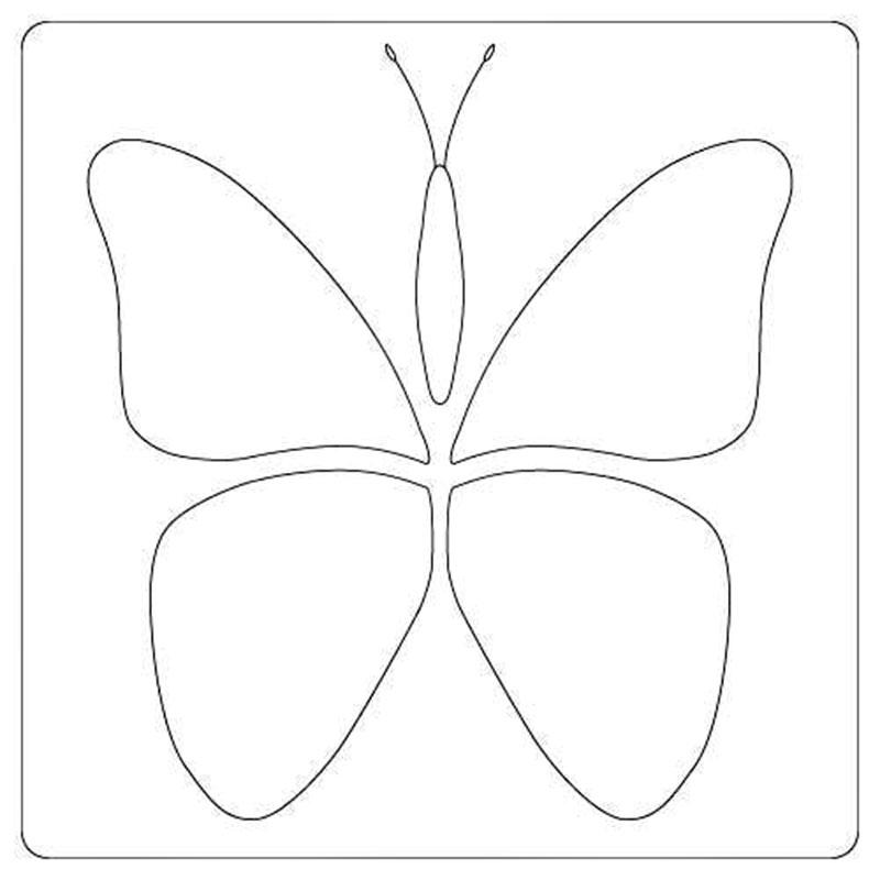 Butterfly Mini Stencil