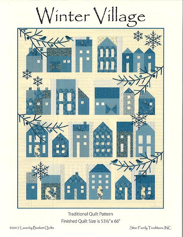 Winter Village - pattern