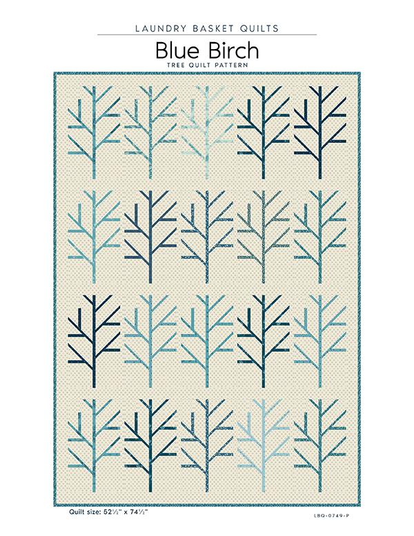 Blue Birch - pattern