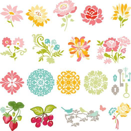 Slice Design Card Secret Garden