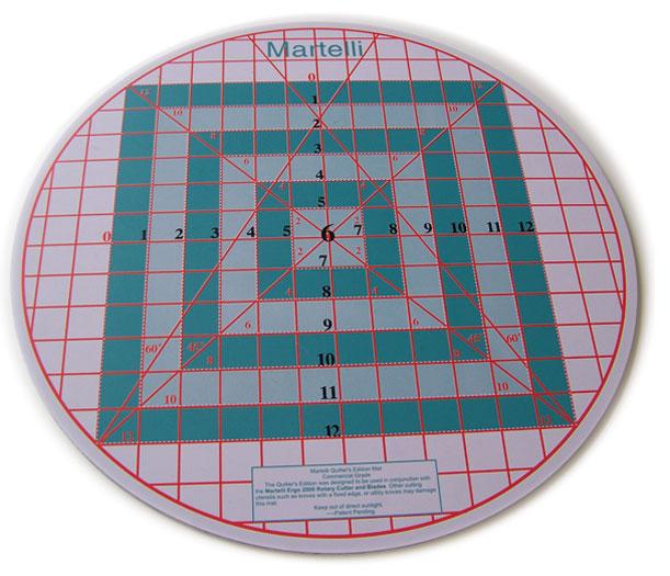 Martelli Turn Table Mat Top TM-17-R