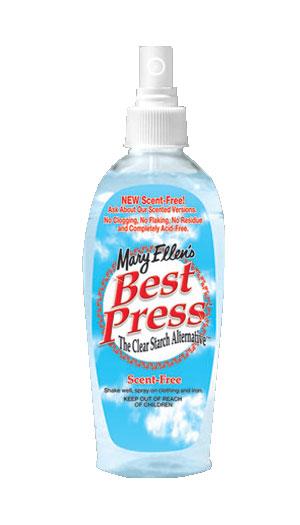 6oz Best Press Scent Free