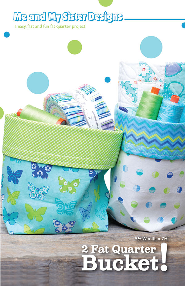 2 Fat Quarter Bucket