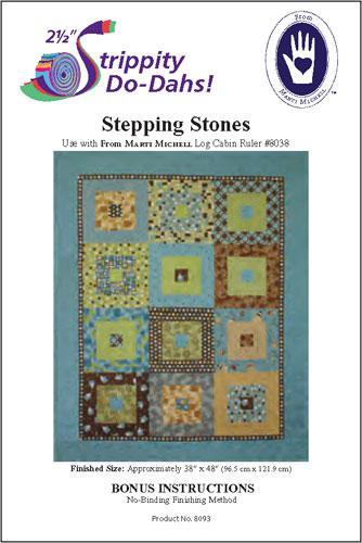 Strippity do dah!  Stepping Stones quilt pattern