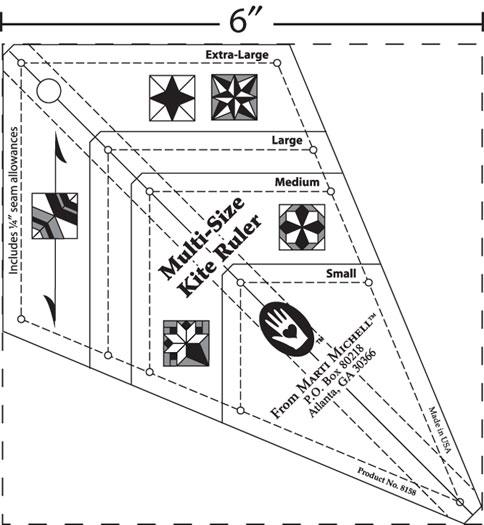 The Kite Ruler