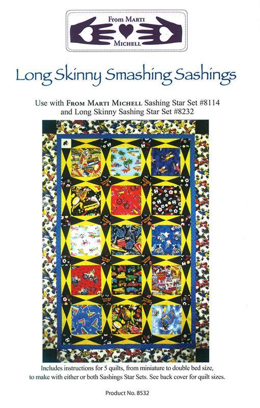 Long Skinny Smashing Sashings