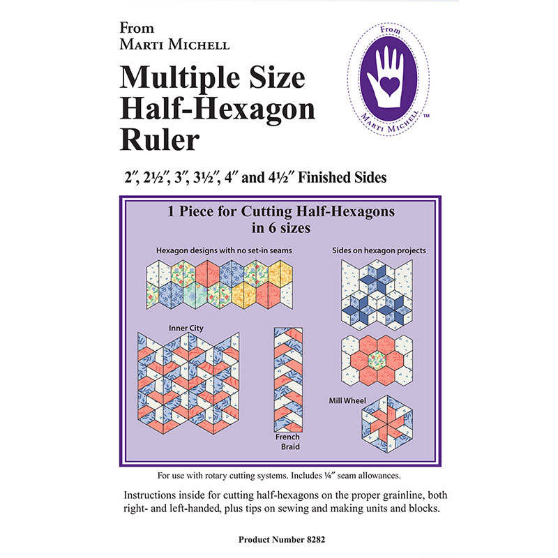 Multiple Size Half Hexagon Rule