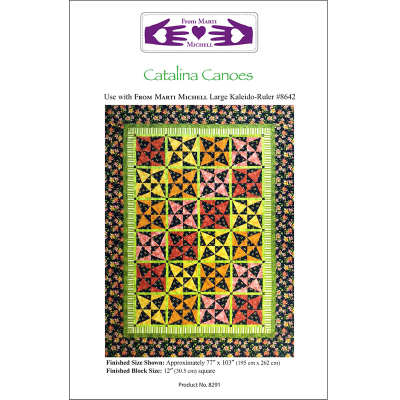 Catalina Canoes Pattern only