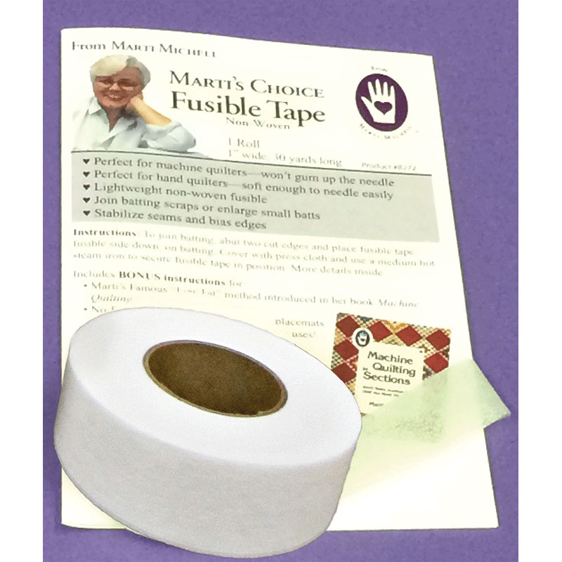 Fusible Batting Tape 1 x 30yd