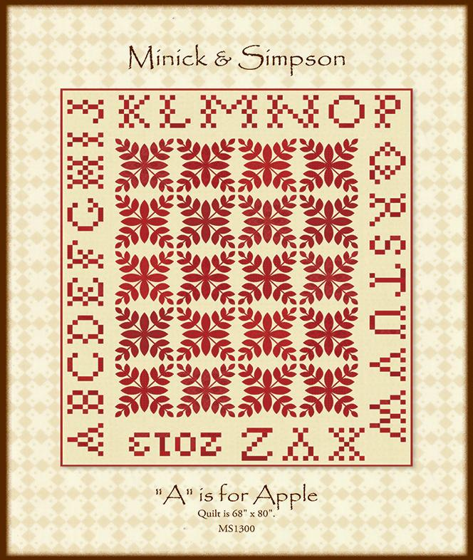 A Is For Apple Minick & Simpson MS 1300