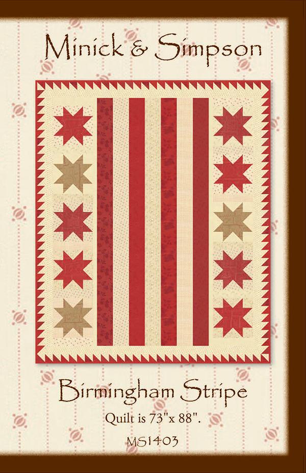 Birmingham Stripe Pattern MS1403