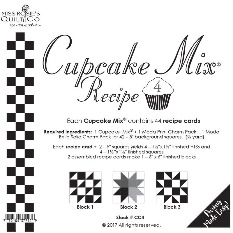 Cupcake Recipe 4 - 44ct