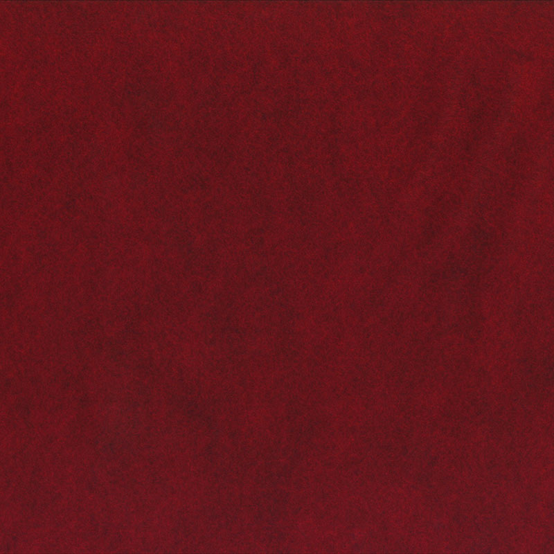 Wool Felt Barn Red