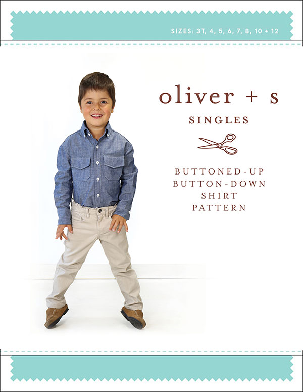 Pattern Buttoned-Up Buttoned Down Shirt - Oliver + S