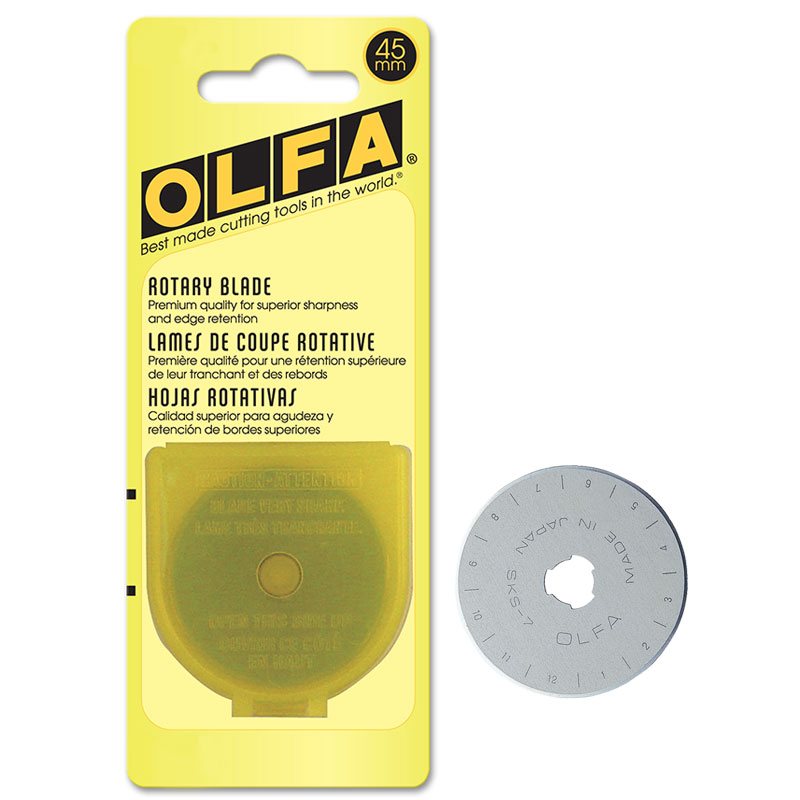 45mm Olfa Rotary Blade  1ct
