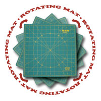 Spinning 12 Rotary Mat